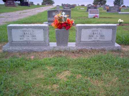 BALL, CHARLES L - Cross County, Arkansas   CHARLES L BALL - Arkansas Gravestone Photos