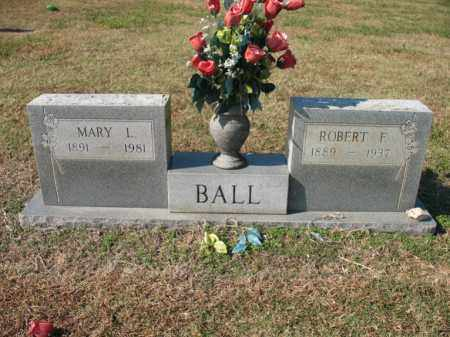 BALL, ROBERT F - Cross County, Arkansas | ROBERT F BALL - Arkansas Gravestone Photos