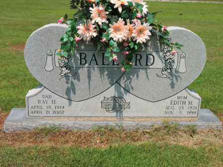 BALLARD, RAY HOWARD - Cross County, Arkansas | RAY HOWARD BALLARD - Arkansas Gravestone Photos