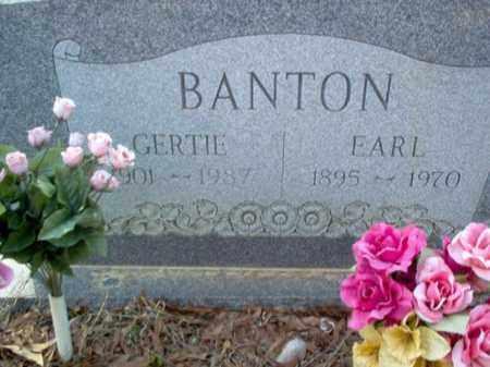 WORLEY BANTON, GERTIE - Cross County, Arkansas | GERTIE WORLEY BANTON - Arkansas Gravestone Photos