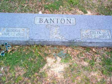 BANTON, MINNIE - Cross County, Arkansas | MINNIE BANTON - Arkansas Gravestone Photos