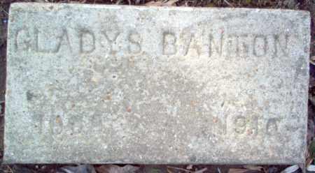 BANTON, GLADYS - Cross County, Arkansas | GLADYS BANTON - Arkansas Gravestone Photos