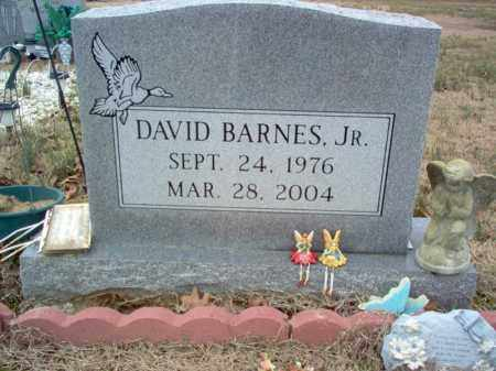 BARNES, JR., DAIVD - Cross County, Arkansas | DAIVD BARNES, JR. - Arkansas Gravestone Photos