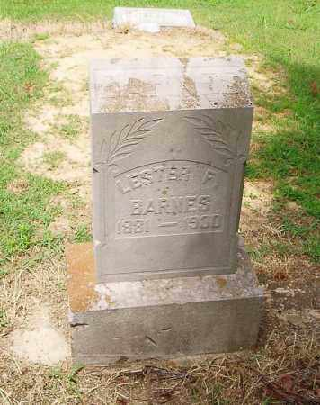 BARNES, LESTER F. - Cross County, Arkansas | LESTER F. BARNES - Arkansas Gravestone Photos