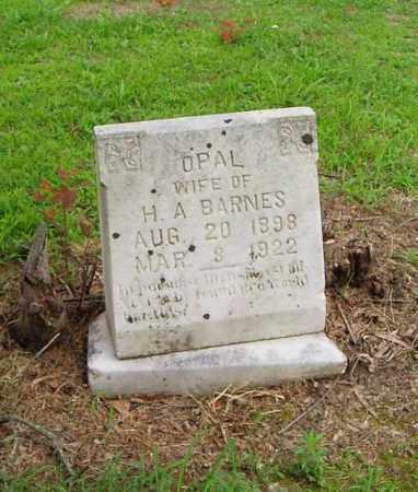 BARNES, OPAL - Cross County, Arkansas   OPAL BARNES - Arkansas Gravestone Photos
