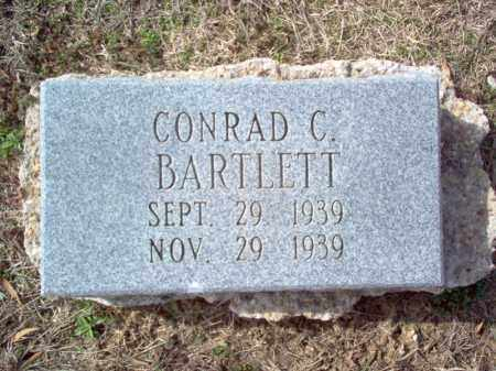 BARTLETT, CONRAD C - Cross County, Arkansas | CONRAD C BARTLETT - Arkansas Gravestone Photos