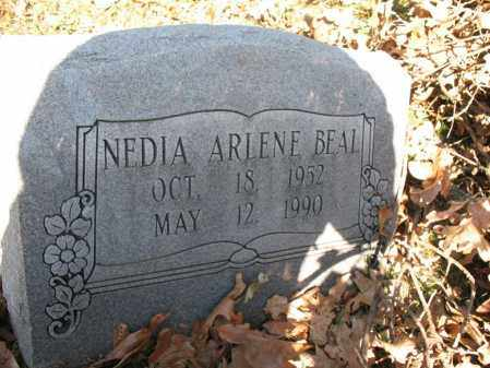 BEAL, NEDIA ARLENE - Cross County, Arkansas | NEDIA ARLENE BEAL - Arkansas Gravestone Photos