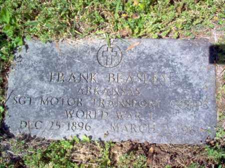 BEASLEY  (VETERAN WWI), FRANK - Cross County, Arkansas | FRANK BEASLEY  (VETERAN WWI) - Arkansas Gravestone Photos