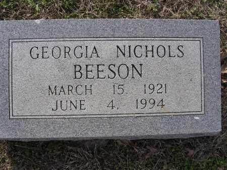 BEESON, GEORGIA - Cross County, Arkansas   GEORGIA BEESON - Arkansas Gravestone Photos