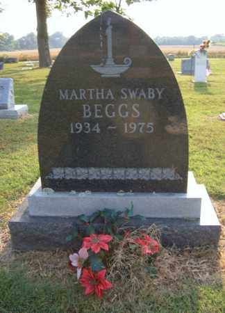 SWABY BEGGS, MARTHA - Cross County, Arkansas   MARTHA SWABY BEGGS - Arkansas Gravestone Photos