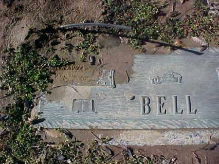 BELL, HUSBAND OF EDNA E - Cross County, Arkansas | HUSBAND OF EDNA E BELL - Arkansas Gravestone Photos