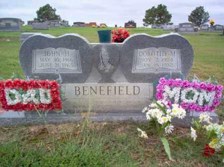 BENEFIELD, DOROTHY M - Cross County, Arkansas | DOROTHY M BENEFIELD - Arkansas Gravestone Photos