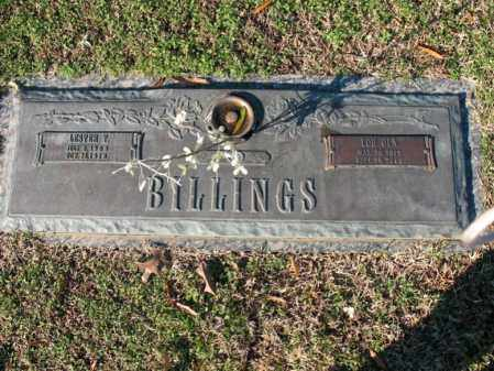 BILLINGS, LESTER T - Cross County, Arkansas | LESTER T BILLINGS - Arkansas Gravestone Photos