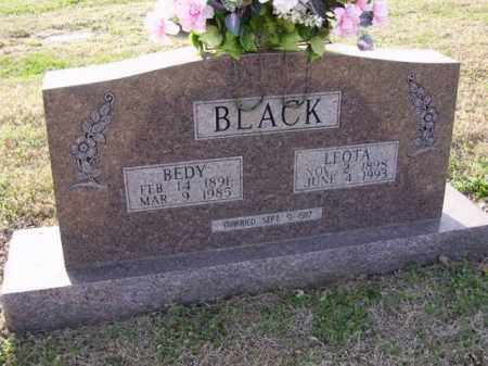 BLACK, LEOTA - Cross County, Arkansas | LEOTA BLACK - Arkansas Gravestone Photos