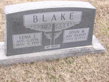 BLAKE, JOHN W - Cross County, Arkansas | JOHN W BLAKE - Arkansas Gravestone Photos
