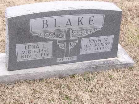 BLAKE, LENA T - Cross County, Arkansas | LENA T BLAKE - Arkansas Gravestone Photos