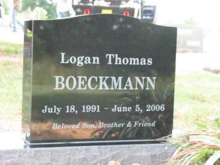 BOECKMANN, LOGAN THOMAS - Cross County, Arkansas | LOGAN THOMAS BOECKMANN - Arkansas Gravestone Photos