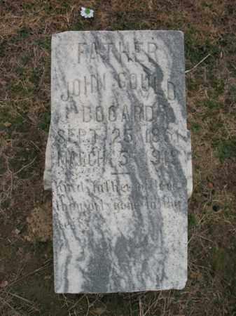 BOGARD, JOHN GOULD - Cross County, Arkansas | JOHN GOULD BOGARD - Arkansas Gravestone Photos