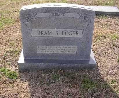 BOGER, HIRAM S - Cross County, Arkansas   HIRAM S BOGER - Arkansas Gravestone Photos