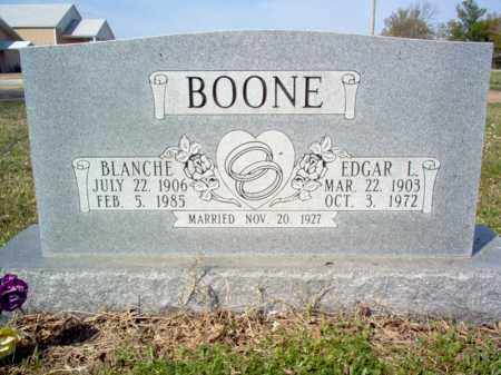 BOONE, BLANCHE - Cross County, Arkansas | BLANCHE BOONE - Arkansas Gravestone Photos