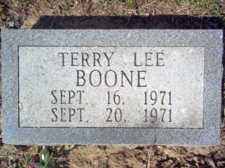 BOONE, TERRY LEE - Cross County, Arkansas | TERRY LEE BOONE - Arkansas Gravestone Photos