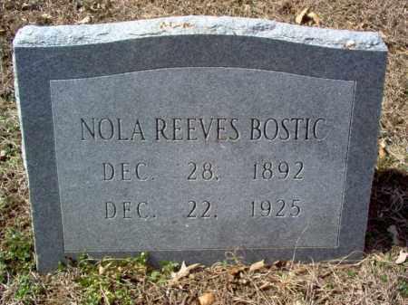 BOSTIC, NOLA - Cross County, Arkansas | NOLA BOSTIC - Arkansas Gravestone Photos