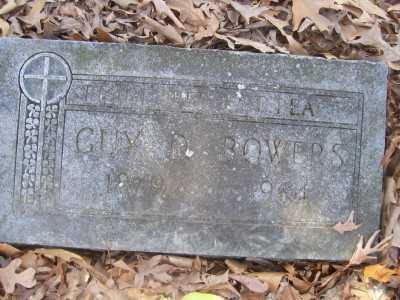 BOWERS, GUY D. - Cross County, Arkansas   GUY D. BOWERS - Arkansas Gravestone Photos
