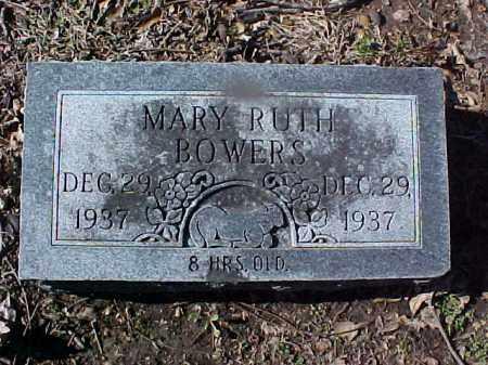 BOWERS, MARY RUTH - Cross County, Arkansas | MARY RUTH BOWERS - Arkansas Gravestone Photos
