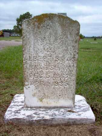 BRADSHAW, ALBERT SILAS - Cross County, Arkansas   ALBERT SILAS BRADSHAW - Arkansas Gravestone Photos