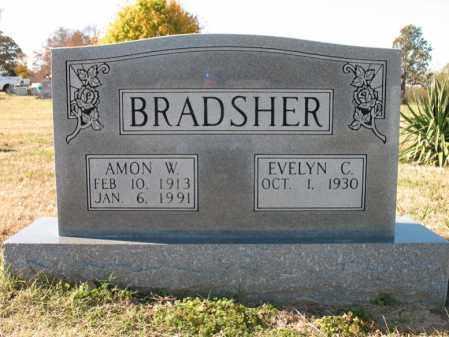 BRADSHER, AMON WILSON - Cross County, Arkansas   AMON WILSON BRADSHER - Arkansas Gravestone Photos