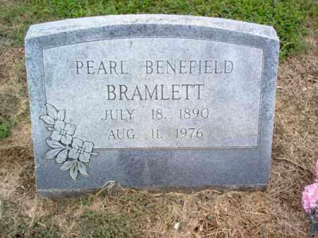 BRAMLETT, PEARL - Cross County, Arkansas   PEARL BRAMLETT - Arkansas Gravestone Photos