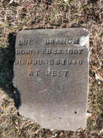 BRANCH, LULA - Cross County, Arkansas | LULA BRANCH - Arkansas Gravestone Photos