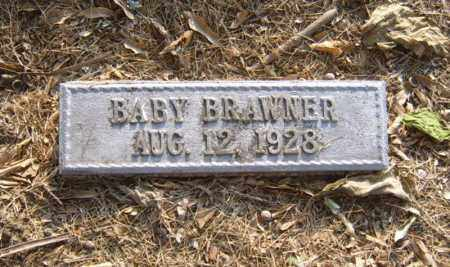 BRAWNER, BABY - Cross County, Arkansas   BABY BRAWNER - Arkansas Gravestone Photos