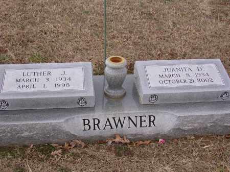 BRAWNER, LUTHER J - Cross County, Arkansas | LUTHER J BRAWNER - Arkansas Gravestone Photos