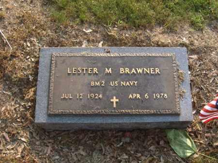 BRAWNER (VETERAN), LESTER M - Cross County, Arkansas | LESTER M BRAWNER (VETERAN) - Arkansas Gravestone Photos