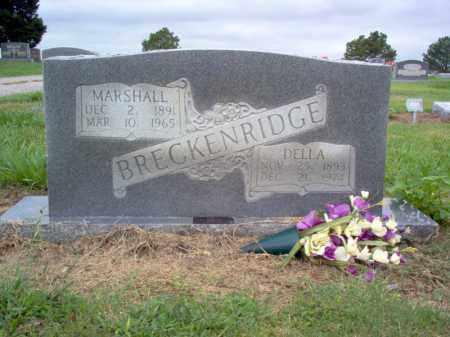 BRECKENRIDGE, DELLA - Cross County, Arkansas | DELLA BRECKENRIDGE - Arkansas Gravestone Photos