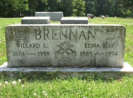 BRENNAN, WILLARD L - Cross County, Arkansas | WILLARD L BRENNAN - Arkansas Gravestone Photos