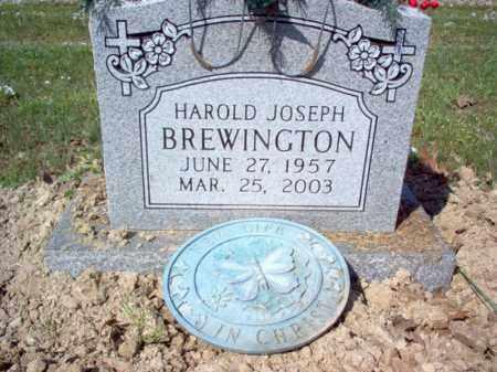BREWINGTON, HAROLD JOSEPH - Cross County, Arkansas | HAROLD JOSEPH BREWINGTON - Arkansas Gravestone Photos