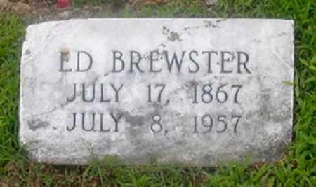 BREWSTER, ED - Cross County, Arkansas | ED BREWSTER - Arkansas Gravestone Photos
