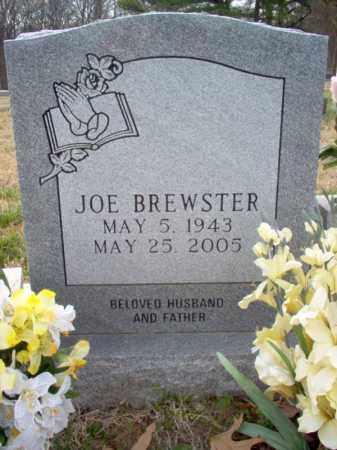BREWSTER, THOMAS JOE - Cross County, Arkansas | THOMAS JOE BREWSTER - Arkansas Gravestone Photos