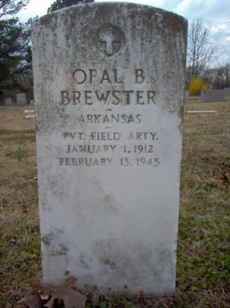 BREWSTER (VETERAN), OPAL B - Cross County, Arkansas | OPAL B BREWSTER (VETERAN) - Arkansas Gravestone Photos