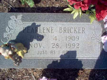 BRICKER, PEARLENE - Cross County, Arkansas | PEARLENE BRICKER - Arkansas Gravestone Photos