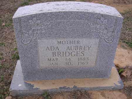 BRIDGES, ADA AUBREY - Cross County, Arkansas | ADA AUBREY BRIDGES - Arkansas Gravestone Photos