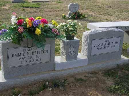 BRITTON, VESSIE B - Cross County, Arkansas | VESSIE B BRITTON - Arkansas Gravestone Photos