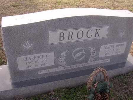 DODD BROCK, LORENE - Cross County, Arkansas | LORENE DODD BROCK - Arkansas Gravestone Photos
