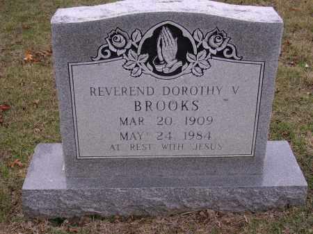 BROOKS REV., DOROTHY V - Cross County, Arkansas | DOROTHY V BROOKS REV. - Arkansas Gravestone Photos