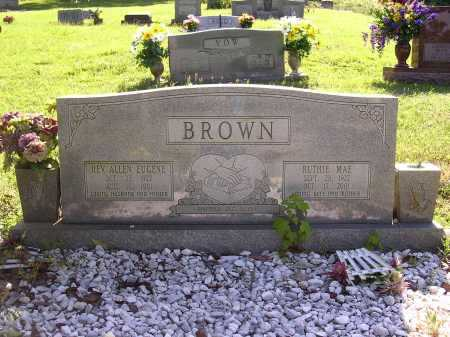 BROWN, RUTHIE MAE - Cross County, Arkansas   RUTHIE MAE BROWN - Arkansas Gravestone Photos