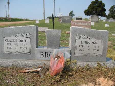 BROWN, CLAUDE ODELL - Cross County, Arkansas | CLAUDE ODELL BROWN - Arkansas Gravestone Photos