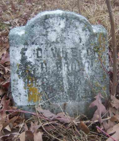 BROWN, E D - Cross County, Arkansas   E D BROWN - Arkansas Gravestone Photos