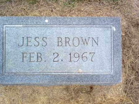 BROWN, JESS - Cross County, Arkansas | JESS BROWN - Arkansas Gravestone Photos